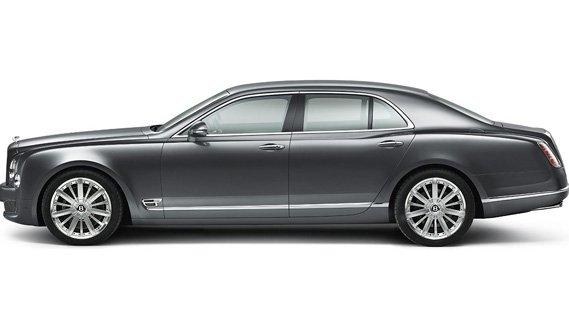 Luxury Chauffeur Driven Bentley Mulsanne from Luxian of London Wedding Chauffeurs