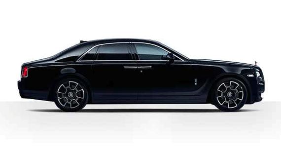 Luxury Chauffeur Driven Rolls-Royce Ghost from Luxian of London Wedding Chauffeurs