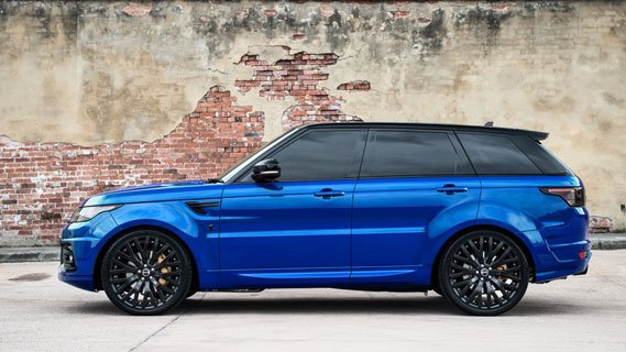 Luxury Chauffeur Driven Range Rover Sport SVR from Luxian of London for Weddings, Events or Corporate Business Travel